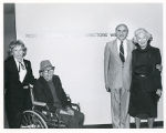 Rose and Bernard Granz with Edward and Charlotte Granz, Director's Wing Dedication,  Ziegler...