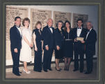 Isadore and Sunny Familian with David Lieber and UJ friends receiving award