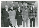 Harold and Celine Easton and Max Vorspan, Classroom Dedication Ceremony