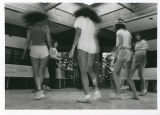 Campers dancing, Camp Ramah