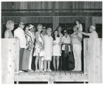 Max and Pauline Zimmer Family and guests, Camp Ramah