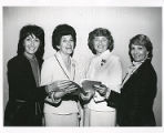 Sylvia Bernstein, Benita Getzkin, Lela Jacoby and Sally Hagen, Torah Fund, Women's League for...