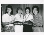 Sylvia Bernstein,  Myra Shapiro, Sonny Raffle,  Anna Gelman, Torah Fund, Women's League for...