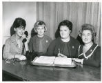 Sonny Raffle, Marjorie Pressman, Esther Dubin, and Mrs. Tillie (Marcus) Mandell, Torah Fund,...