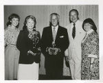 Shirley Blumenthal, Sarah Harwick Feder, Stanley Kramer, and Thelma Post, Author-Artist Luncheon,...