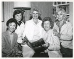 Diane Miller, Ruth Lehmann, Vi Friedland, Mimi Stepner, and Sandy Vorspan, University Women