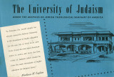 University of Judaism Scrapbook (Scrapbook 1-4), 1949/1950