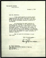 Letter from President Harry Truman to Simon Greenberg, 1948
