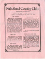 Mulholland Country Club, vol. 1(6), 1985