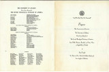 13th Commencement Exercises, Program, 1963