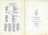 15th Commencement Exercises, Program, 1965