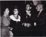 Rabbi Jacob Pressman and Marjorie Pressman with Betty Greenberg and Cecil B. DeMille