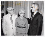 Dr. David Lieber with Max and Pauline Zimmer