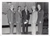 Jack Ostrow, William Friedland, Dr. Louis Shub, Dr. David Lieber, and Mr. Graubart