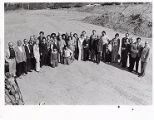 Guests at the beginning  construction of Familian Campus, 1976
