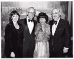 Dr. Esther Lieber, Dr. David Lieber, Frances and Harry Popkin, Gala Dinner Honoring David Lieber