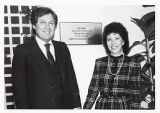 Louis and Judith Miller, Ziegler Administration Building Dedication