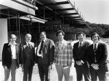 Board Members at Construction Site