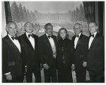 Isadore Familian, Jack Ostrow, Sid Levine, Shirley Levine, David Lieber and Simon Greenberg, Gala...