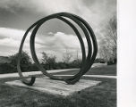 Undetermined Line, Bernar Venet, The Sondra and Marvin Smalley Sculpture Garden