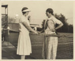 Corinne Henry with Helen Wills Moody