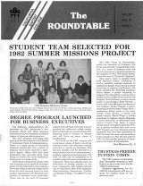 Roundtable, Vol. 26 No. 1 - Winter 1982