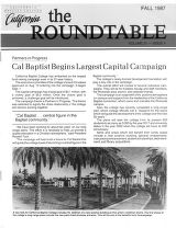 Roundtable, Vol. 31 No. 4 - Fall 1987