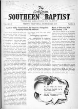California Southern Baptist, Vol. 8 No. 2 - December 23, 1948