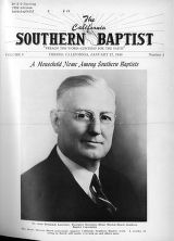 California Southern Baptist, Vol. 8 No. 4 - January 27, 1949