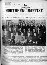 California Southern Baptist, Vol. 8 No. 5 - February 10, 1949