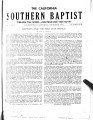 California Southern Baptist, Vol. 3 No. 1 - December 1943