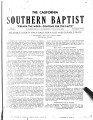 California Southern Baptist, Vol. 3 No. 2 - January 1944