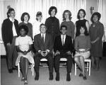 Hermanos en Cristo. Seated, L-R: Shirley Hicks, U. R. Neely, Geriel DeOliveira, Linda Lloyd. Standing, L-R: Mike Hull,...