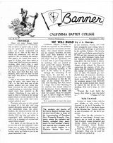 The Banner, Vol. 9 No. 5 - November 27, 1963