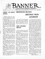 The Banner, Vol. 14 - May 1, 1969